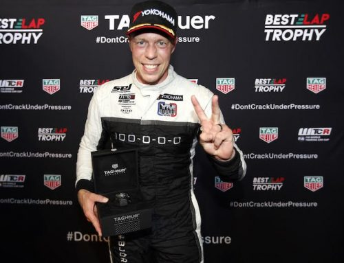 Björk adds TAG Heuer Best Lap Trophy to WTCR Race 3 win
